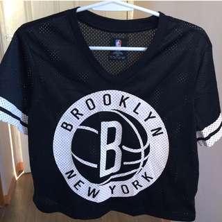 Forever21 NBA Brooklyn Jersey Shirt