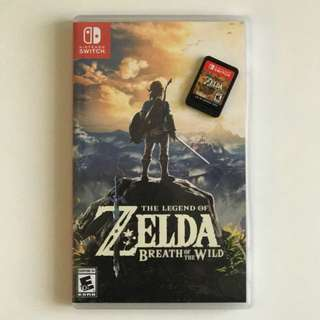 [Reserved] The Legend of Zelda: Breath of The Wild Nintendo Switch