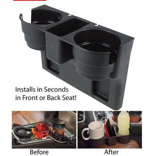 Seat Car Drink Cup Holder Car Auto Valet Swivel Mount Holder Travel Drink Cup Coffee Bottle Phone Stand