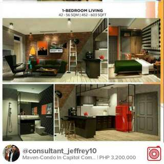 Very Accessible Condo In Capitol Commons Pasig
