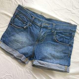 Maong Shorts - Small