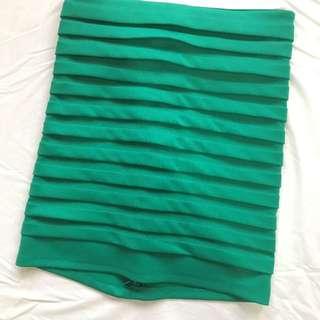 Green Bandage Skirt - Small