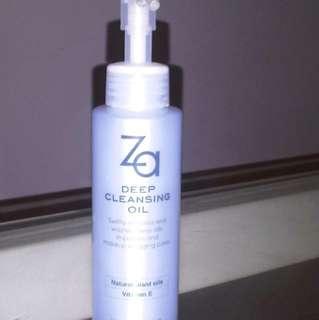 ZA Deep Cleansing Oil