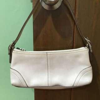 White Coach Bag original - Small