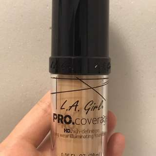 LA Girl Pro Coverage Foundation in Natural