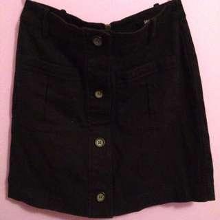 Sportsgirl Black Casual Skirt