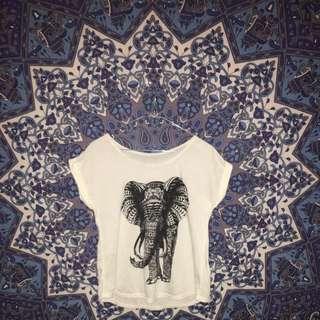 elephant boho tshirt