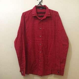 Free Ong Kemeja Merah Size L