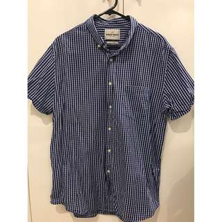 Spencer Project Collared Button-up