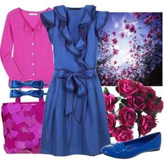 Marc Jacobs Habotai Silk Ruffle Dress