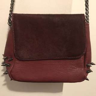 Spikes And Fur Bag