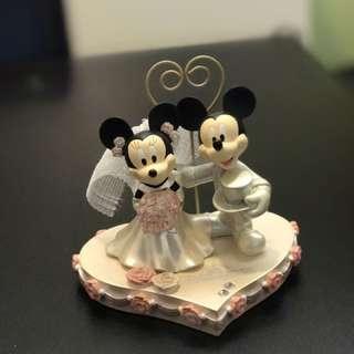 迪士尼米奇米妮結婚擺設