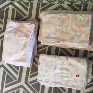 Flannelette Sheets Sets X 3
