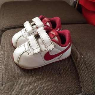 Pink Nike Cortez