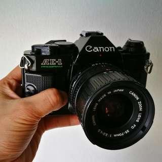 Canon AE-1 Program FD 35-70mm 3.5-4.5