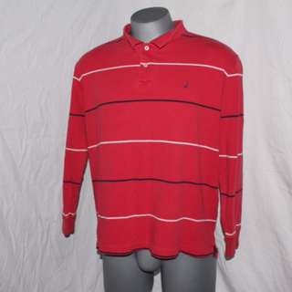 Nautica Long Sleeve Polo