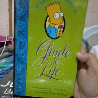 """Bart Simpson's """"Guide To life"""""""