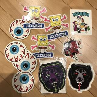 MISHKA Stickers (assorted)