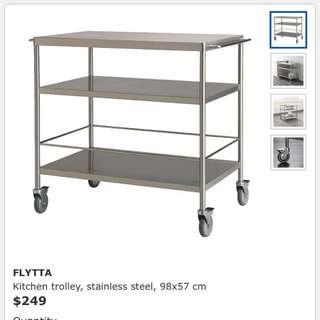 Ikea Flytta Kitchen Trolley
