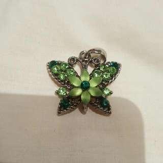 Crystal Butterfly Pendants $5ea