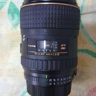 Tokina 100mm 2.8 / Filter