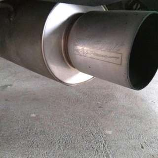 Silent Power Exhaust For Subaru Forester 2.5T SG9 With Cert