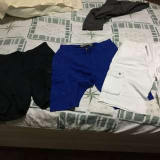 Branded Shorts (Bossini, Lacoste, Guess)
