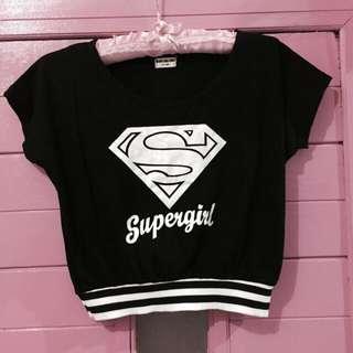 Supergirl's shirt