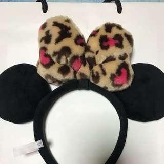 (免運費)日本東京迪士尼米妮髮箍