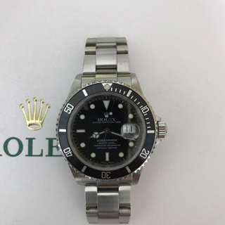 WTS Discontinued Rolex Submariner 16610