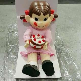 日本 Peko poko 牛奶妹 不二家 吊飾 裝飾 擺飾 娃娃 布偶