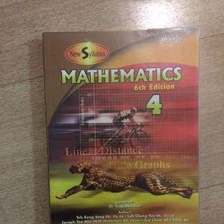 Mathematics 4 (O Level) Shinglee