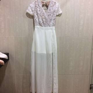 Antoneta Dress White