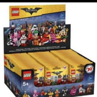 Lego Batman Minifig Box Of 60 Packs