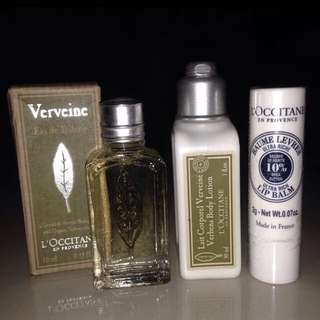 L'OOCITANE Travel Kit Series