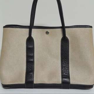 Hermes Vintage Garden Party Bag 36cm