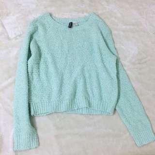 韓國H&M購入 Baby綠毛衣