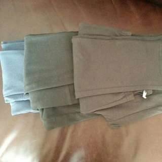 3 Pairs Of Leggings. Size Small-med