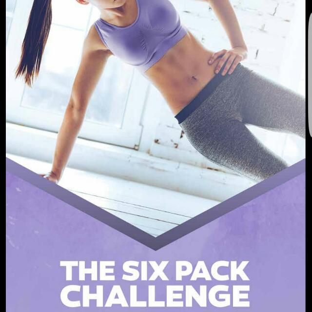 6 Pack Challenge Exercise And Eating Guide