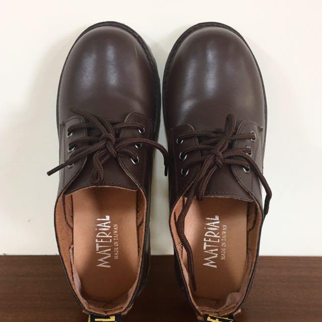 韓妞低筒平底低筒馬靴