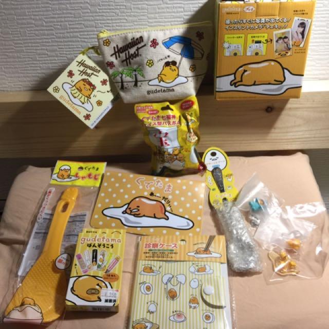 蛋黃哥系列商品~~~