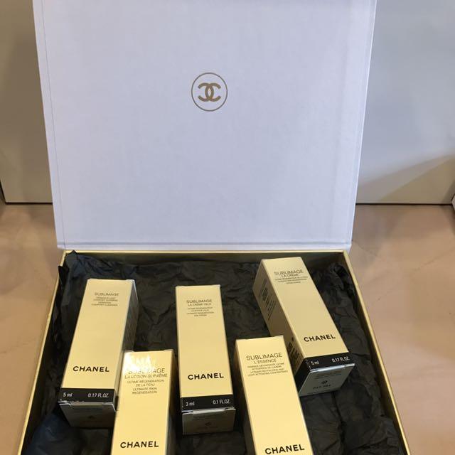 香奈兒 Chanel 頂級 奢華 保養旅行組 五入體驗禮盒