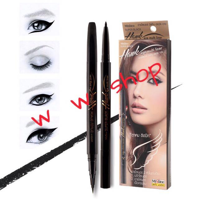 🇹🇭泰國 Mistine super black 雙頭眼線液筆