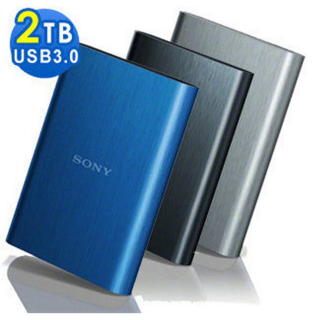 #運費我來出 SONY USB3.0 2TB行動硬碟(HD-E2)