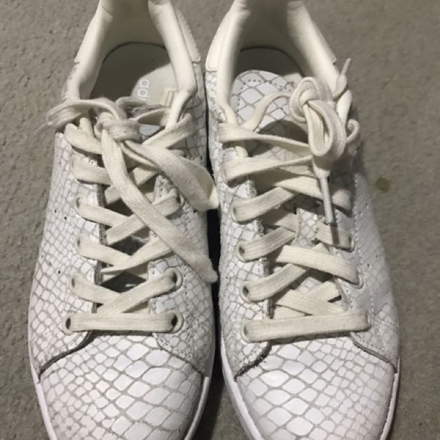 Adidas Stan Smith Snake Skin Sneakers