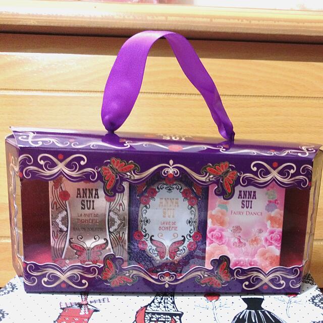Anna Sui 蝶舞玫瑰香氛禮盒 香水香精
