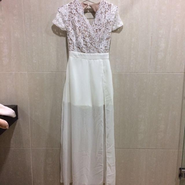Antoneta Dress White