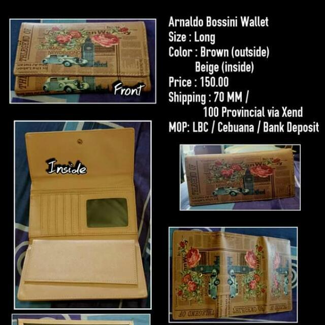 Arnaldo Bossini Wallet