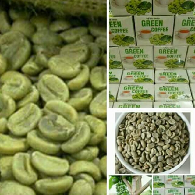 Authentic green coffee Powder form