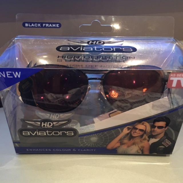 Aviators Black Frame Sunglasses